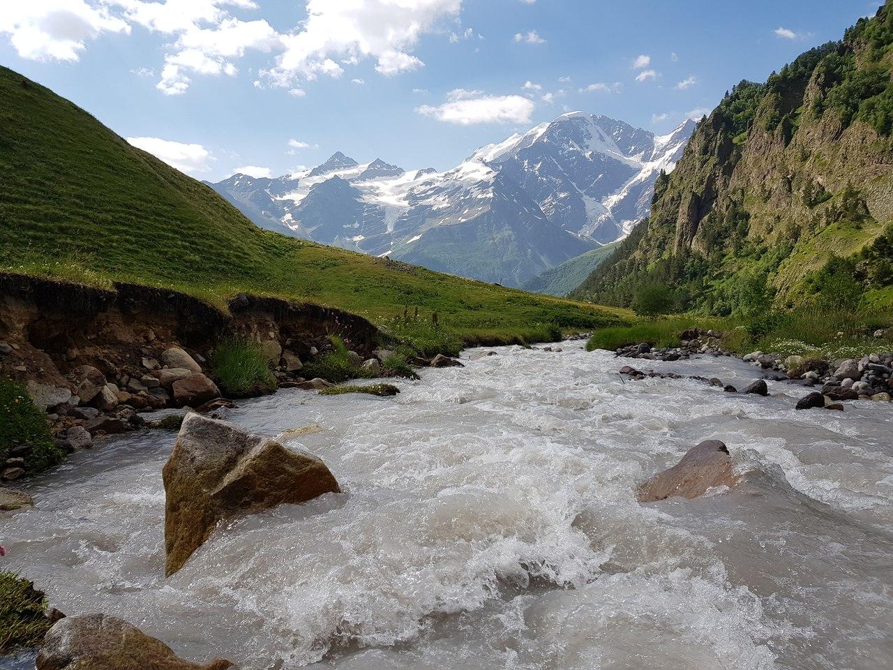 Реки Приэльбрусья
